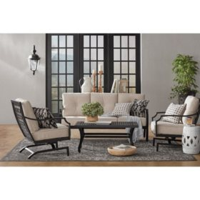 Member's Mark Barcelona 4-Piece Deep Seating Set
