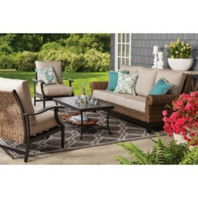 Member's Mark Peyton 4-Piece Seating Set