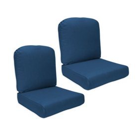 Member's Mark Sunbrella Deep Seating Cushion, 2-Pack (Various Colors)
