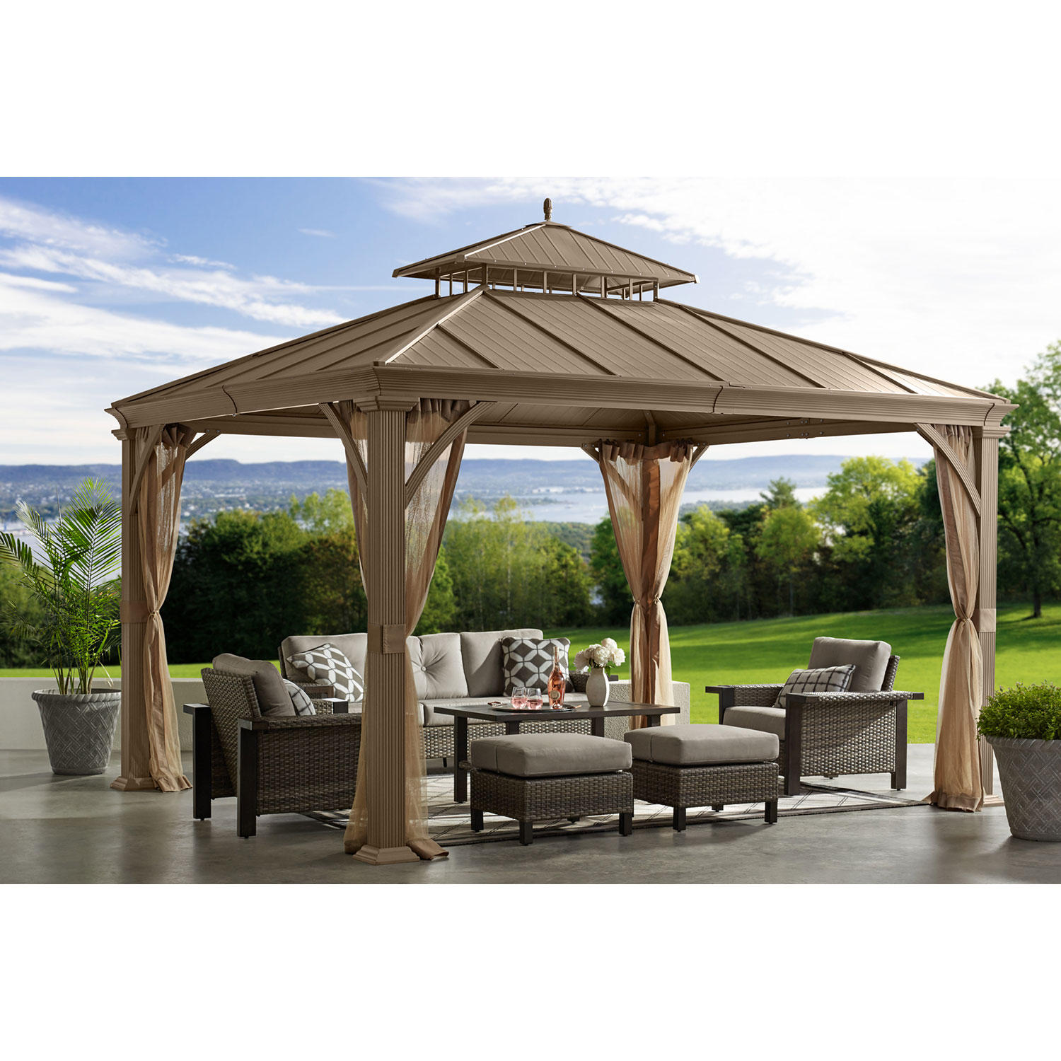 Member's Mark 10' x 12' Salemo Hardtop Gazebo