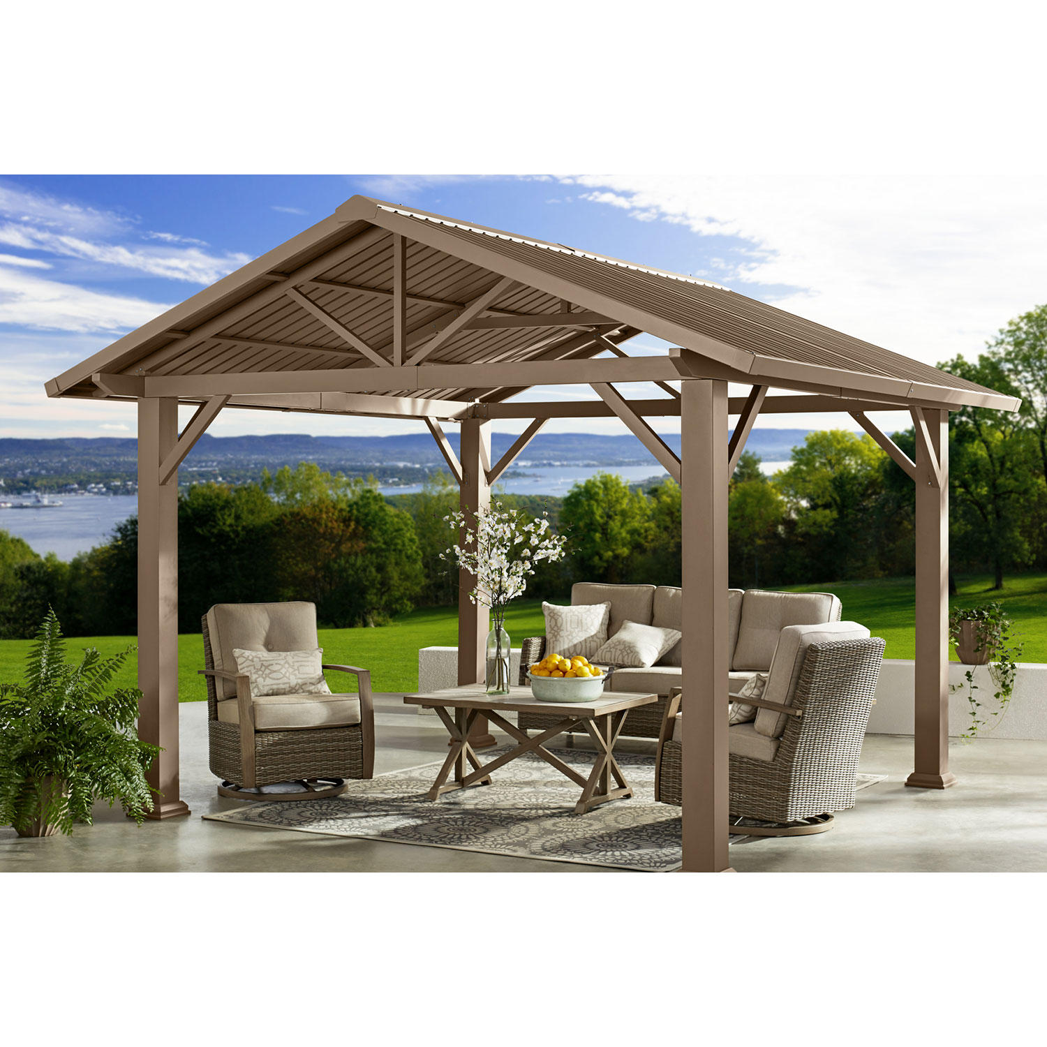 Member's Mark Triangle Hardtop Gazebo
