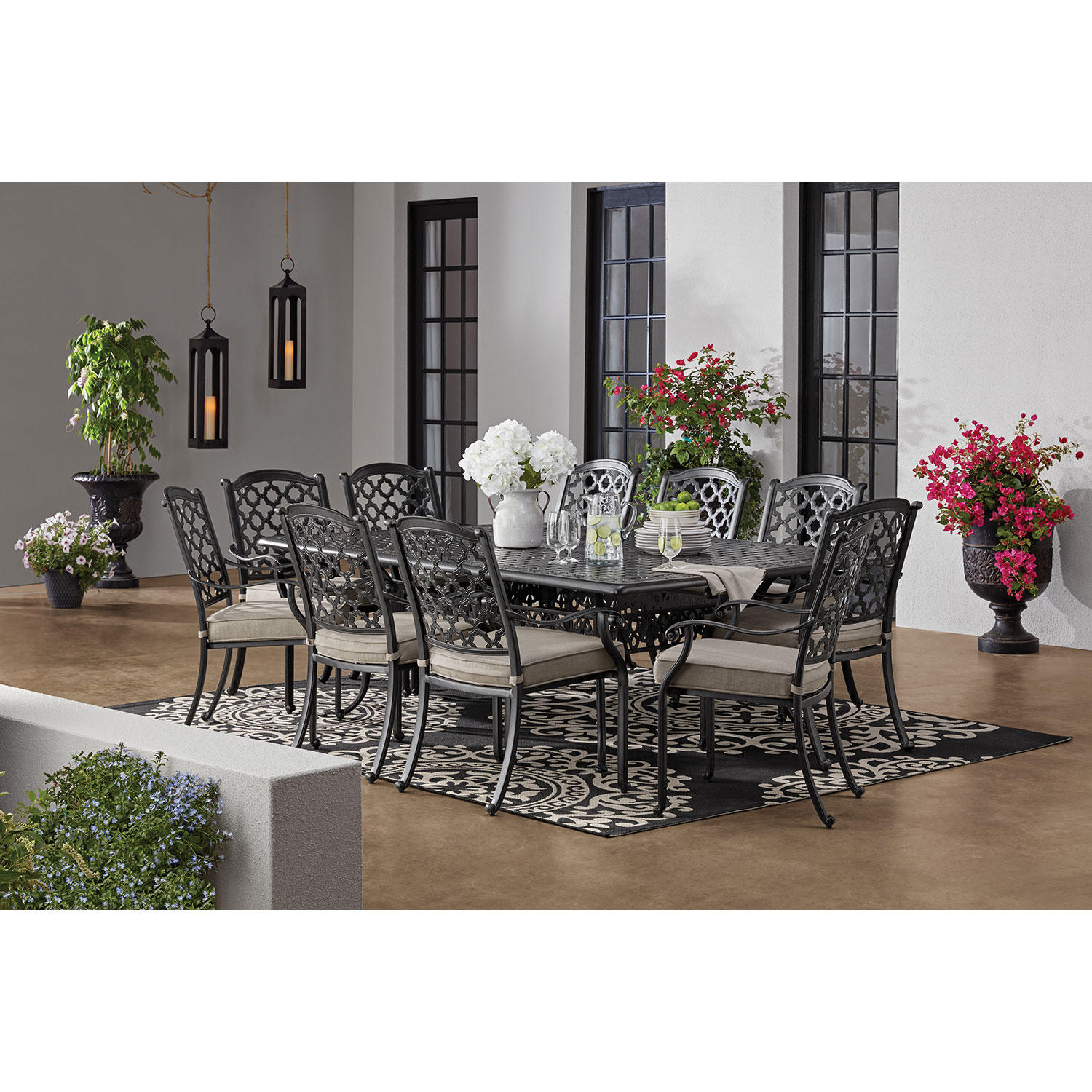 Member's Mark Paisley 11-Piece Outdoor Patio Dining Set