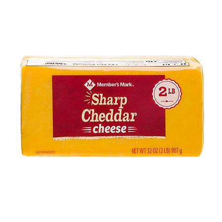Member's Mark Sharp Cheddar Cheese Block (2 lbs.)