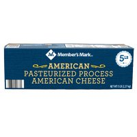 Member's Mark Pasteurized Process American Cheese Loaf (5 lbs.)