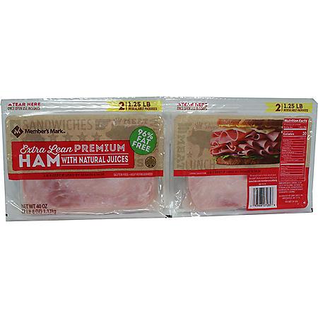 Member's Mark Extra Lean Premium Ham (40 oz.)