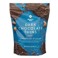Member's Mark Dark Chocolate Thins With Almonds & Sea Salt (20oz)