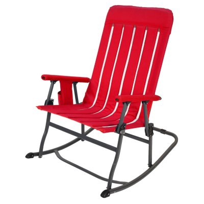 Awesome Members Mark Portable Rocking Chair Sams Club Pabps2019 Chair Design Images Pabps2019Com