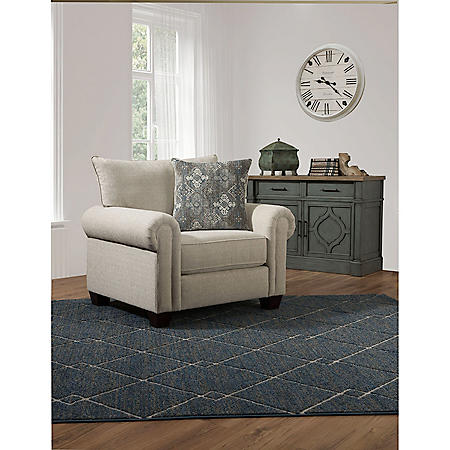 Taylor Accent Chair with Accent Pillow