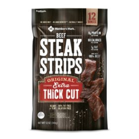 Member's Mark Beef Steak Strip (12oz)