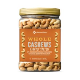 Member's Mark Lightly Salted Whole Cashews (33 oz.)