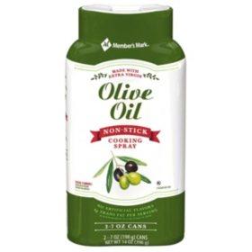 Member's Mark Olive Oil Cooking Spray (7 oz., 2 pk.)