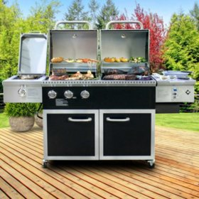 Member's Mark Hybrid Pellet and Gas Grill