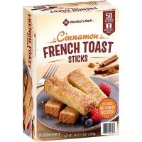 Member's Mark Cinnamon French Toast Sticks, Frozen (50 ct.)