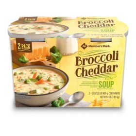 Member's Mark Broccoli Cheddar Soup (2 pk.)