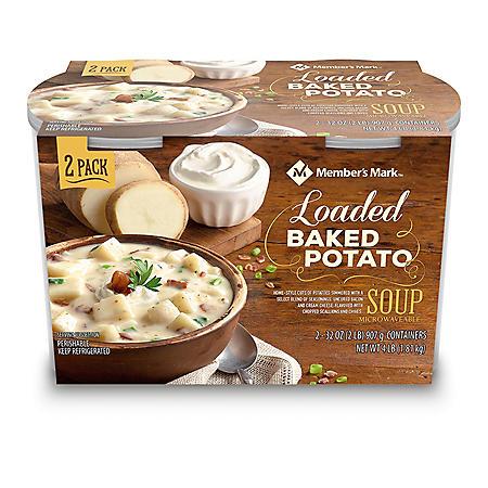 Member's Mark Loaded Baked Potato Soup (2 pk.)
