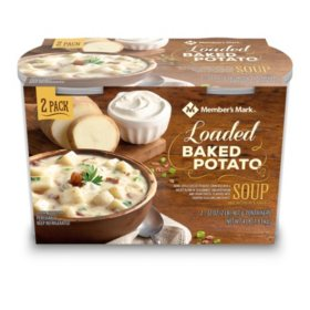 Member's Mark Loaded Baked Potato Soup (2 pk.)