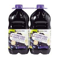 Member's Mark 100% Concord Grape Juice (64oz / 2pk)