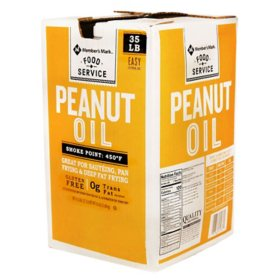 Member's Mark Peanut Oil (35 lbs.)