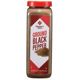 Member's Mark Ground Black Pepper (18 oz.)