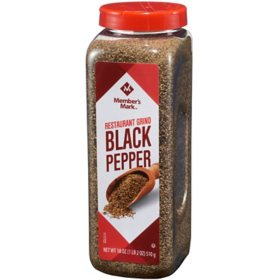 Member's Mark Restaurant Black Pepper (18 oz.)
