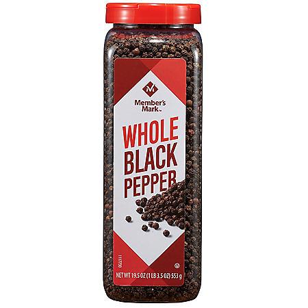 Member's Mark Whole Black Peppercorns (19.5 oz.)
