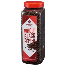 Member's Mark Whole Black Peppercorns (19.5 oz.)
