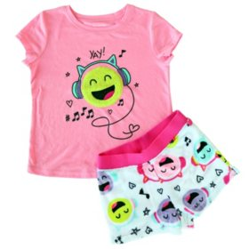Member's Mark Girl's 2-Piece Pajama Set