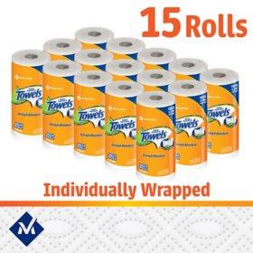 Member/'s Mark Super Premium Paper Towels 15 rolls 150 sheets per roll
