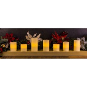 Member's Mark LED Candles, Assorted Styles (7 pcs.)