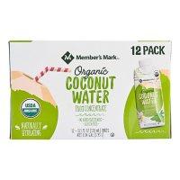 Member's Mark Organic Coconut Water (11.1oz / 12pk)