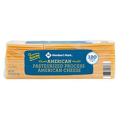 Member's Mark American Cheese (5 lbs., 120 slices)
