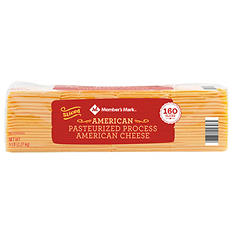 Member's Mark American Cheese (5 lbs., 160 slices)