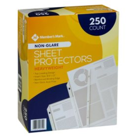 Member's Mark Heavyweight Sheet Protectors, Select Type (250 ct.)