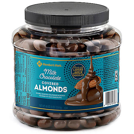 Member's Mark Chocolate Almonds (48oz)