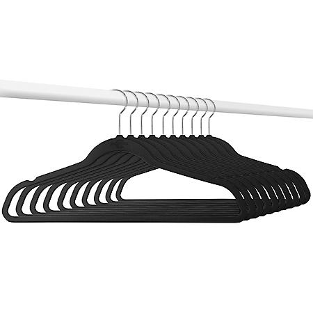 Member's Mark Elite-Quality Velvet Hangers with Chrome Hooks (50 pk.)