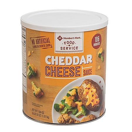 Member's Mark Cheddar Cheese Sauce (106 oz.)