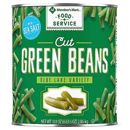 Member's Mark Cut Green Beans (6 lbs. 5 oz. can)