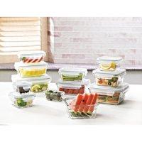 Members Mark 24-Pcs Glass Food Storage Set by Glasslock Deals