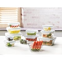 Deals on Members Mark 24-Piece Glass Food Storage Set by Glasslock