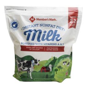Member's Mark Non-Fat Instant Dry Milk (70.4 oz.)