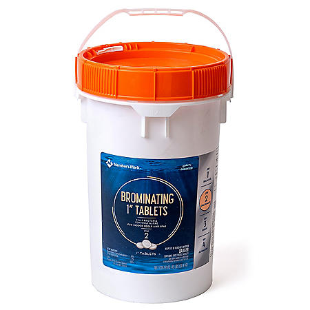 """Member's Mark Brominating 1"""" Tablets (45 lbs.)"""
