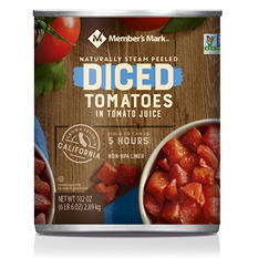 Member's Mark Diced Tomatoes In Tomato Juice (102 oz. can)