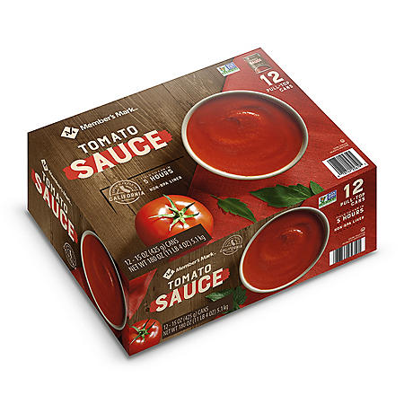 Member's Mark Tomato Sauce (15 oz., 12 ct.)