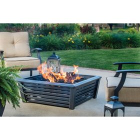 Members Mark  Tapered Square Fire Pit Sams Club