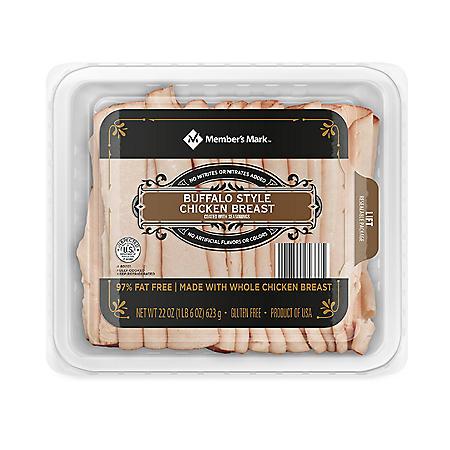 Member's Mark Buffalo Style Chicken Breast, Sliced (22 oz.)