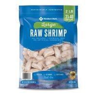 Member's Mark Raw Large Shrimp (2 lb. bag, 31 - 40 pieces per pound)