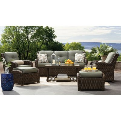 Member's Mark Agio Chelsea Sunbrella Seating Set (Sage)