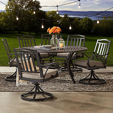 Member's Mark Harbor Hill 7-Piece Cushion Dining Set