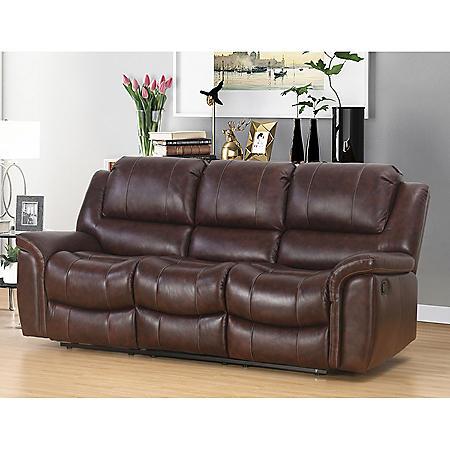 Super Members Mark Westwood Top Grain Leather Sofa Interior Design Ideas Inamawefileorg