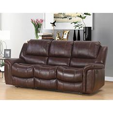 Member's Mark Westwood Top-Grain Leather Sofa